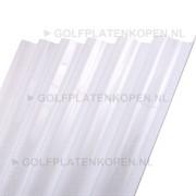 Polycarbonaat F Opaal melkwit 1530x1100mm